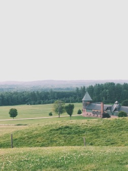 View of Farm Barn, Shelburne Farms, Shelburne, VT (08/15/15)
