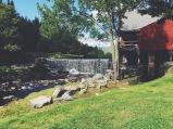 Mill and waterfall behind Weston Playhouse, Weston, VT (08/13/15)