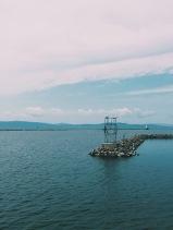 View of Lake Champlain from Waterfront Park, Burlington, VT (08/16/15)