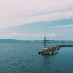 View of Lake Champlain from Waterfront Park, Burlington, VT (08/16/15)