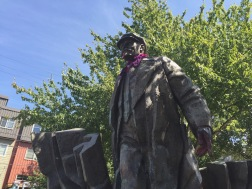 Statue of Lenin, Fremont, Seattle, WA. (08/26/2015)