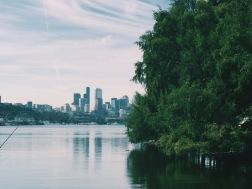 Gasworks Park Marina, Seattle, WA. (08/26/2015)